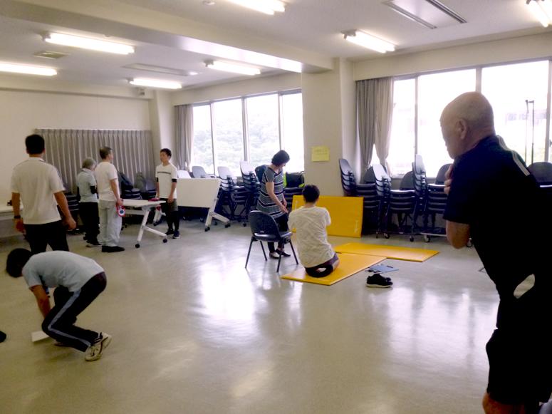 東海大学健康クラブ活動-市民のための体力テスト